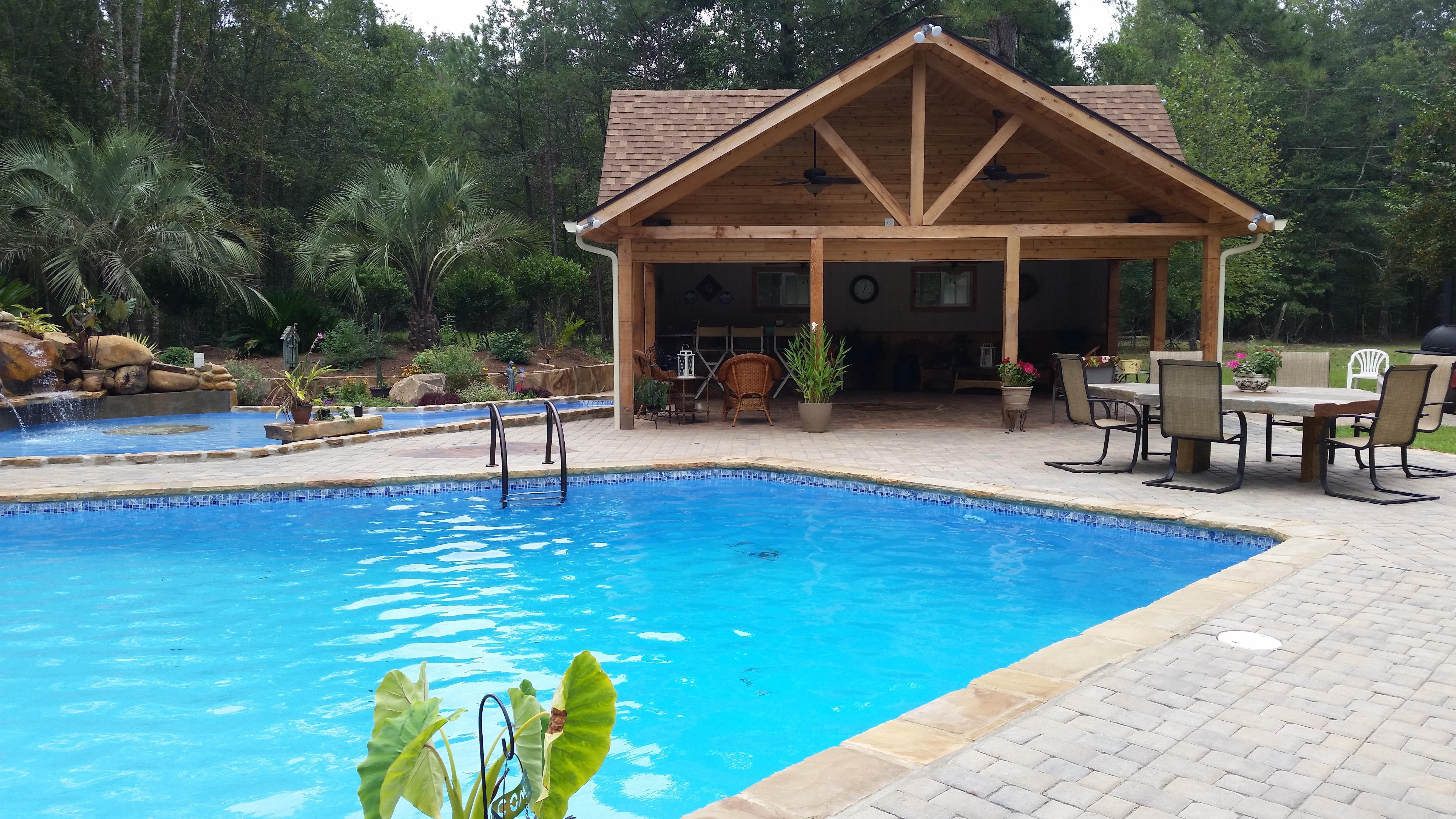 Backyard Pool Makeover